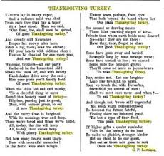 thanksgiving holidays through the centuries empty branches on