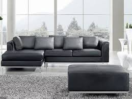 sofa schwarz sofa schwarz leder couch ecksofa r sofalandschaft oslo