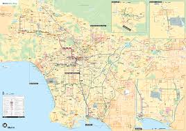 Los Angeles Area Map by Los Angeles Map Pdf Indiana Map