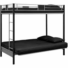 Black Bunk Beds Dorel Dhp Silver Screen Futon Metal Bunk Bed Silver
