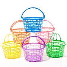 easter baskets for sale bright plastic baskets garden outdoor