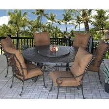 Round Patio Furniture Set by Traditional Dining Sets 6 Sears