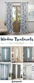 home decor window treatments vcny 4 pack barcelona double layer curtain set gray 32 liked