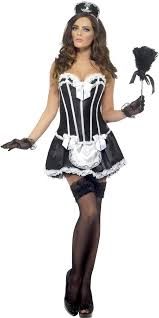 French Maid Halloween Costumes Fever French Maid Costume 42333 Fancy Dress Ball