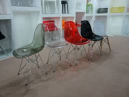 Clear Acrylic Dining Chairs Side Table Clear Plastic Side Table Acrylic Side Table 40x30 H45