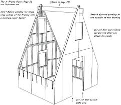a frame house plans plans a frame houses plans the small house with loft a frame