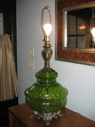 modgirlvintage swag lamp and table lamp vintage retro pair