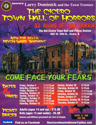 Scariest Halloween Haunted Houses In America by Town Of Cicero News Wire Cicero U0027s Haunted House Opens October 4