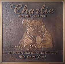 bronze memorial plaques custom pet memorials create plaques stones keepsakes local direct