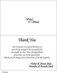 wedding memorial wording wedding thank you wording card step my wedding ideas