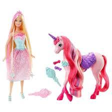 barbie princess unicorn giftset target