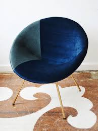 Blue Saucer Chair The Reveal The Saucer Chair Makeover Lonny