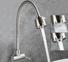 wall kitchen faucet the good looking of wall mounted kitchen sink faucets cool kitchen