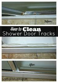 Clean Shower Doors 20 Of The Most Popular Cleaning Tricks On Pinterest Clean Shower