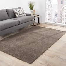 Free Area Rugs Luxurious Silas Handmade Solid Gray Area Rug 8 X 10 Free