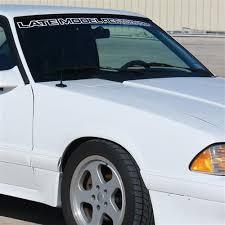 late model restoration mustang mustang late model restoration windshield white 79 93