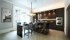 grosvenor kitchen design architectural visualisation arkin esref digital environments