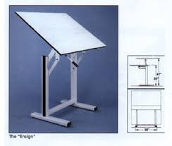 Alvin Onyx Drafting Table Drawing Tables
