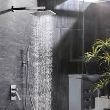Shower Sets For Bathroom Bath Shower Sets Sr Sun Rise 10 Inch Bathroom Luxury
