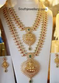 stone necklace sets images Cz stones necklace set mango mala designs mango haram mango jpg