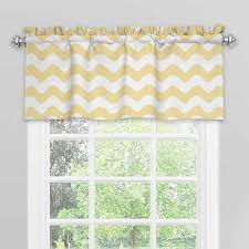 Yellow Valance Curtains Buy Yellow Valance From Bed Bath U0026 Beyond