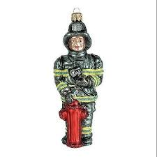 firefighter ornaments unique decorations