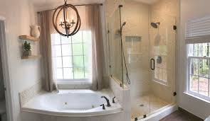 White Pebble Tiles Bathroom - white pebble tile shower and bath surround subway tile outlet