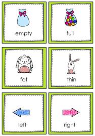 80 best opposite words images on pinterest opposites preschool