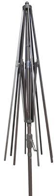 Patio Umbrella Frame Aluminum Market Umbrella Replacement Frames 9 And 11