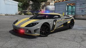 ccx koenigsegg koenigsegg ccx pursuit police second livery gta5 mods com