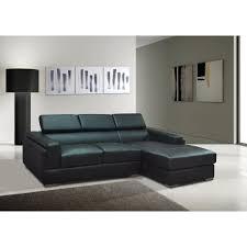 position canap canapé d angle pu noir salerno position angle achat vente
