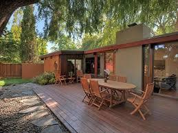 Eichler Style Home Palo Alto Exterior Decks U0026 Patios Pinterest Joseph Eichler
