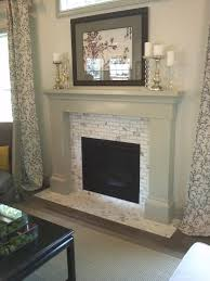 new glass fireplace tile small home decoration ideas marvelous