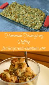 homemade stuffing for thanksgiving homemade thanksgiving stuffing fearlessly creative mammas