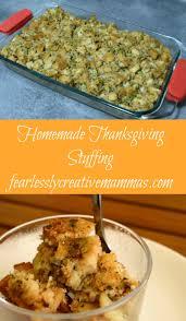 thanksgiving stuffing recipie homemade thanksgiving stuffing fearlessly creative mammas