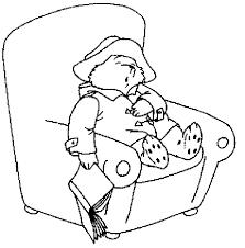 paddington bear coloring pages coloringpagesabc paddington