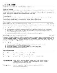 Sample Resume For Teachers Freshers by Resume Resume Samples For Teachers