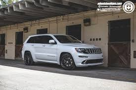 jeep grand cherokee srt8 with hre p101 in gloss black hre