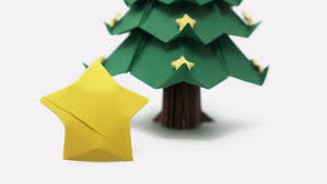 Origami Lucky Stars For The Christmas Tree Youtube
