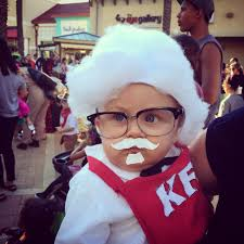 kim davis halloween mask colonel sanders cute creative baby halloween costume holidays