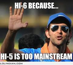 Funny Indian Meme - because hi 5 is so mainstream lol indian funny indian pics and