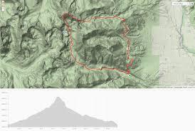 Harvard Map Mount Harvard Loop Dirtproof