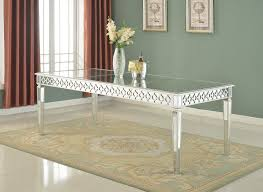 Mirrored Dining Room Set by Sophie Mirrored Dining Table