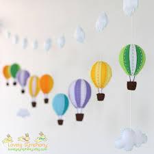 colorful garland 9 air balloons baby garland garland