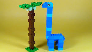 how to make lego dinosaur apatosaurus 10664 lego bricks and