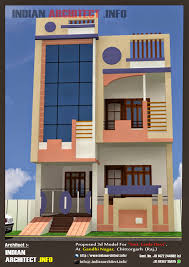 smt leela devi house 20 u2032 x 50 u2032 1000 sqft floor plan and 3d