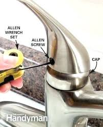 leaky kitchen faucet handle moen kitchen faucet handle whitekitchencabinets org