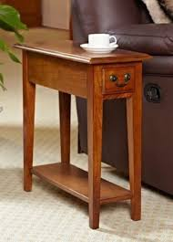 shaker style side table oak mission shaker style antique vintage home side end table shelf