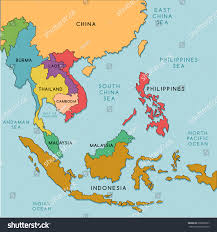 Asia Map With Capitals by South America Map Countries And Capitals Roundtripticket Me
