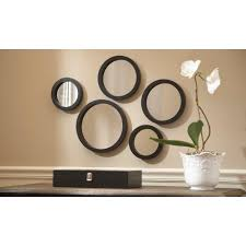 martha stewart living seneca 5 piece framed mirror set 71892 the seneca 5 piece framed mirror set
